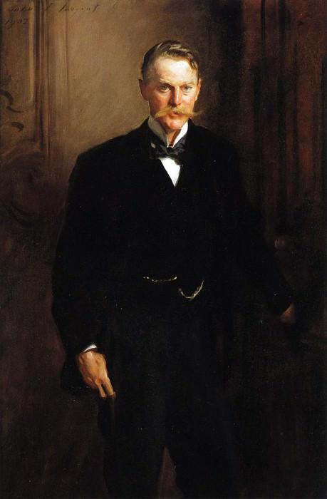 George Frederick Mc Corquodale. John Singer Sargent