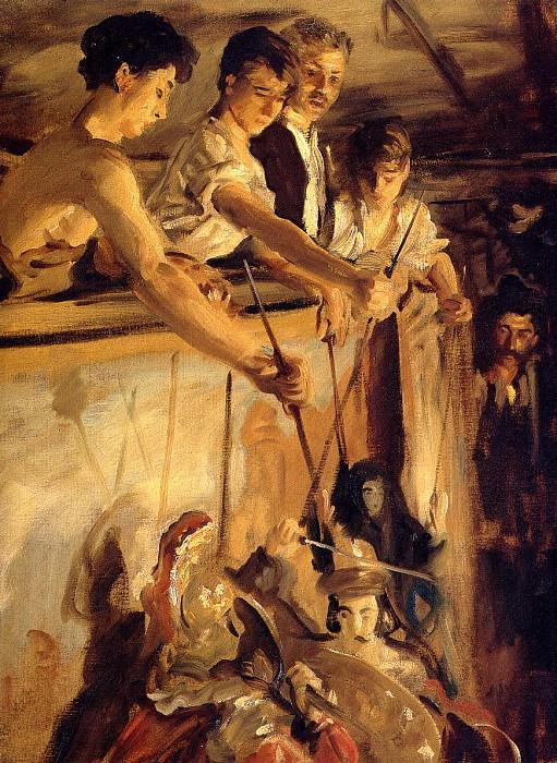 Marionettes. John Singer Sargent
