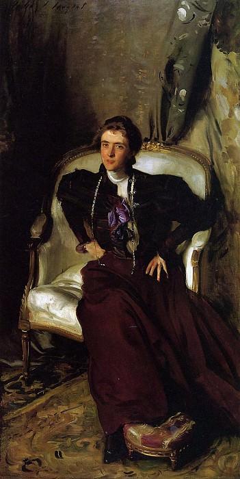 Mrs. Charles Thursby (Alice Brisbane). John Singer Sargent