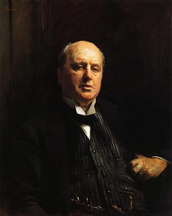 Henry James. John Singer Sargent