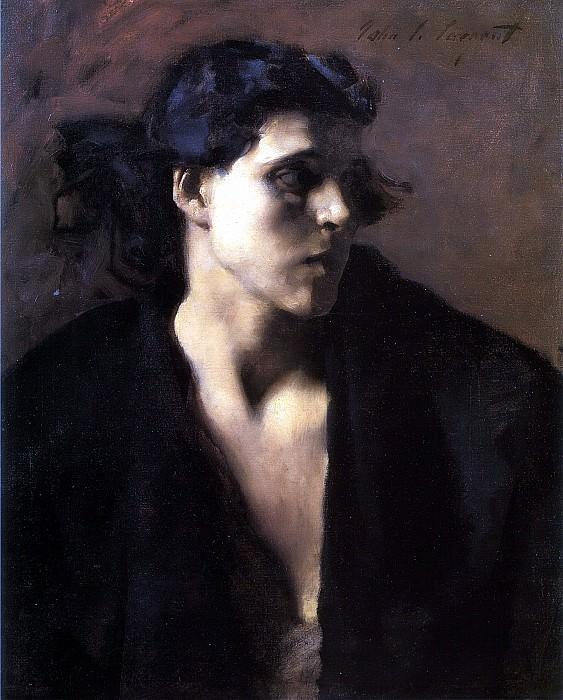 A Spanish Woman. John Singer Sargent