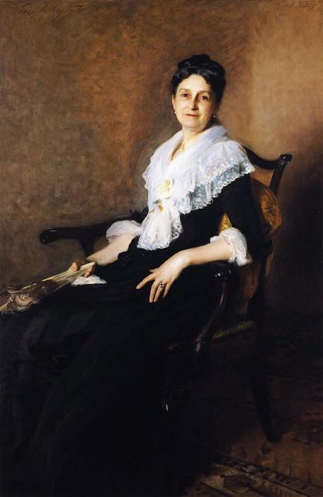 Mrs. Henry Marquand. John Singer Sargent