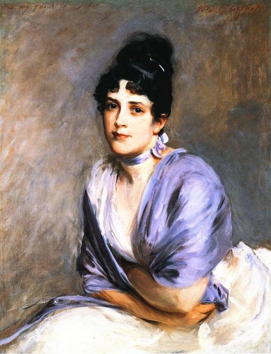 Mrs. Frank Millet. John Singer Sargent