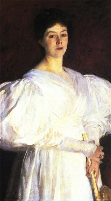 Mrs. Frederick Barnard. John Singer Sargent