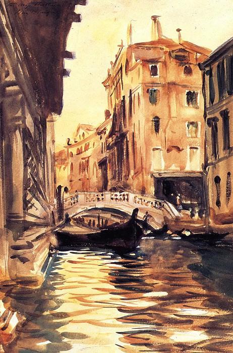 Ponte della Canonica. John Singer Sargent