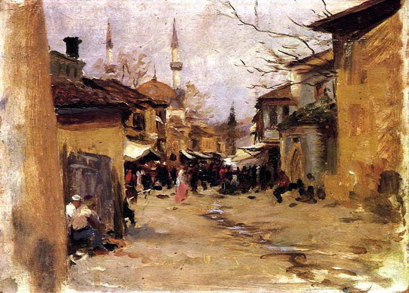 Сцена на арабской улице. Джон Сингер Сарджент