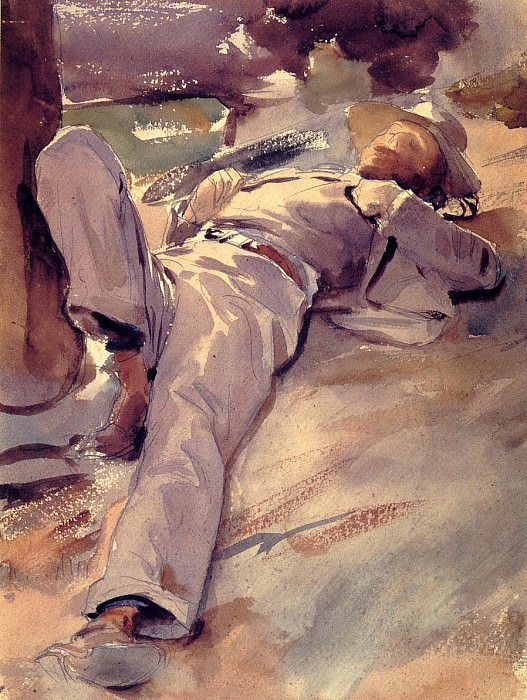 Pater Harrison (also known as Siesta). John Singer Sargent