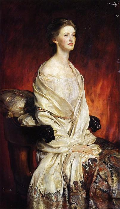 Sylvia Harrison. John Singer Sargent