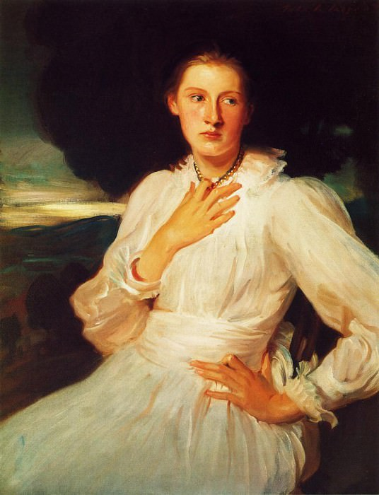 Katharine Pratt. John Singer Sargent