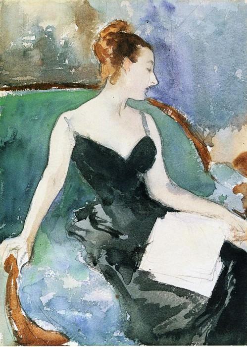 Madame Gautreau. John Singer Sargent