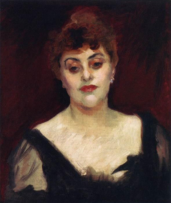 Madame Belleroche. John Singer Sargent
