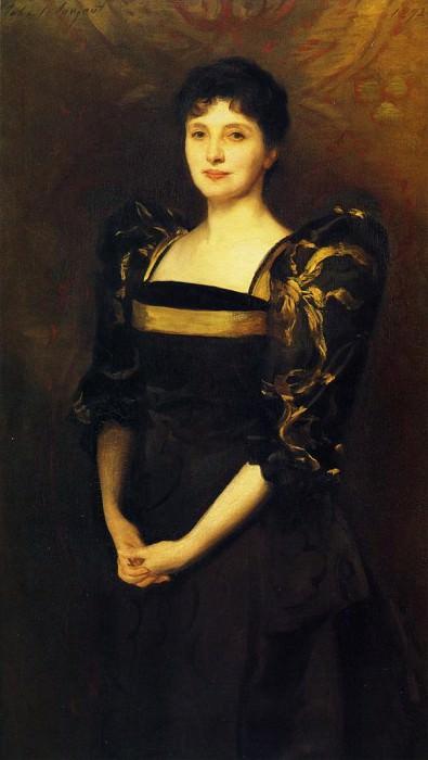 Mrs. George Lewis (Elizabeth Eberstadt). John Singer Sargent