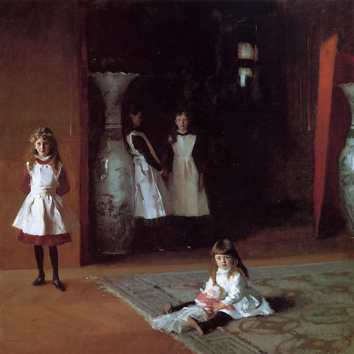 The Daughters of Edward Darley Boit. John Singer Sargent