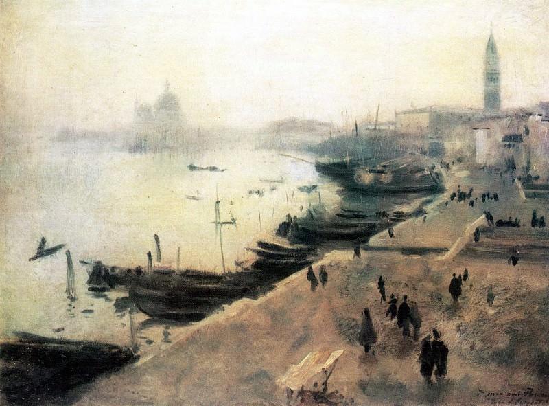 Venedig bei schlechtem Wetter. John Singer Sargent