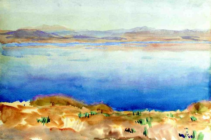 Тивериадское озеро. Джон Сингер Сарджент