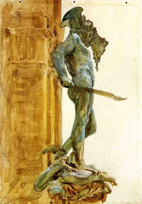 Persus, Florence. John Singer Sargent