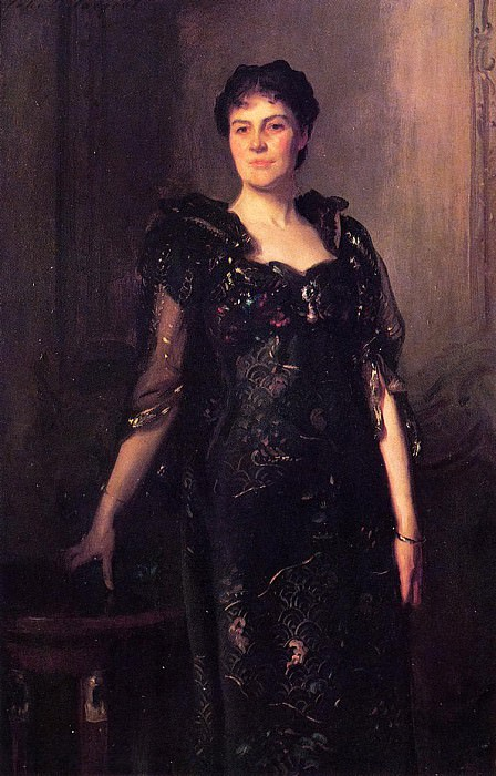 Mrs. Charles F. St. Clair Anstruther - Thompson, nee Agnes. John Singer Sargent