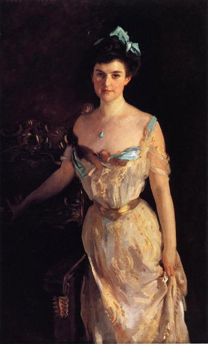 Mrs. Charles Pelham Curtis. John Singer Sargent