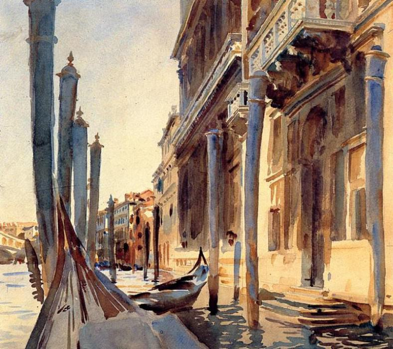 Grand Canal, Venice. John Singer Sargent
