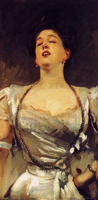 Mrs. George Batten (Mabel Veronica Hatch). John Singer Sargent