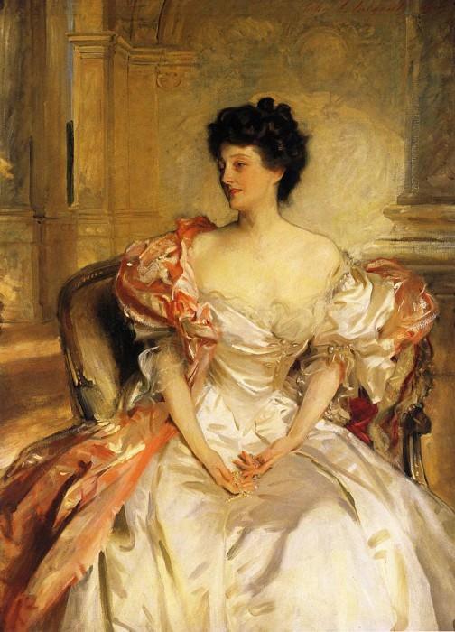 Cora, Countess of Strafford (Cora Smith). John Singer Sargent