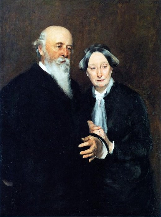 Mr. and Mrs. John W. Field. John Singer Sargent