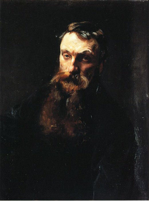 Auguste Rodin. John Singer Sargent