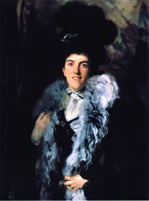 Mrs. John William Crombie (Minna Watson). John Singer Sargent