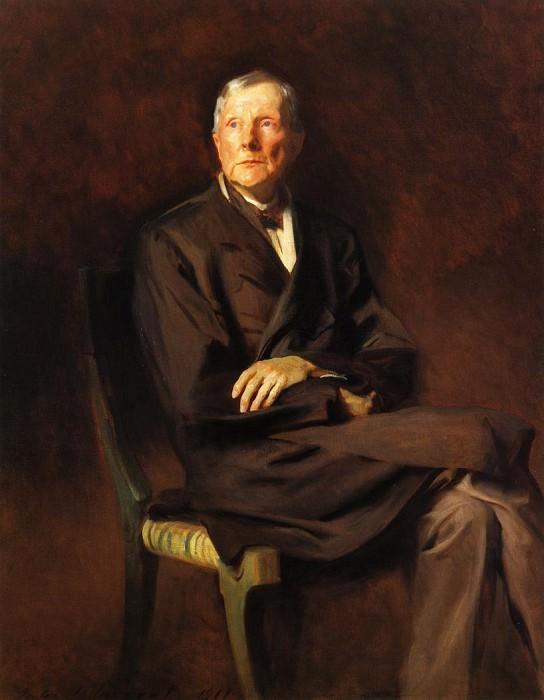 John D. Rockefeller. John Singer Sargent