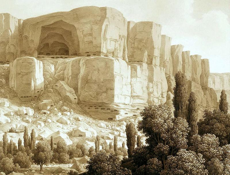 Kyugelgen, Karl von - View of cave rocks near Kachikalena. Hermitage ~ part 06