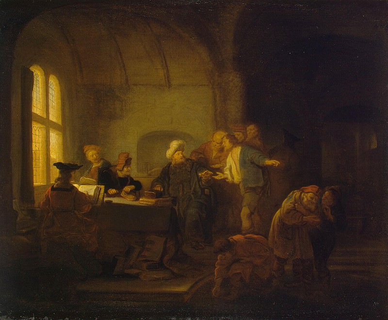 Koninck, Salomon - Parable of the Labourers in the Vineyard. Hermitage ~ part 06