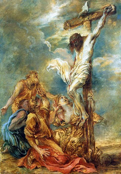 Castiglione, Giovanni Benedetto - Crucifixion. Hermitage ~ part 06