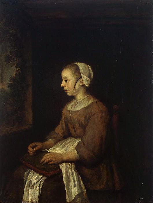 Koninck, Philips - Seamstress. Hermitage ~ part 06