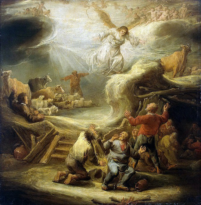 Cape, Benjamin Gerritsen - Annunciation to the shepherds. Hermitage ~ part 06