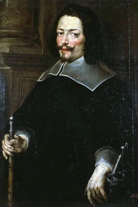Carreño de Miranda Juan - Portrait of a Man. Hermitage ~ part 06