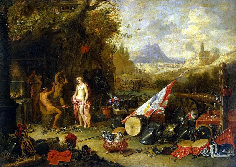 Кессель, Ян ван Старший - Венера в кузнице Вулкана. Эрмитаж ~ часть 6
