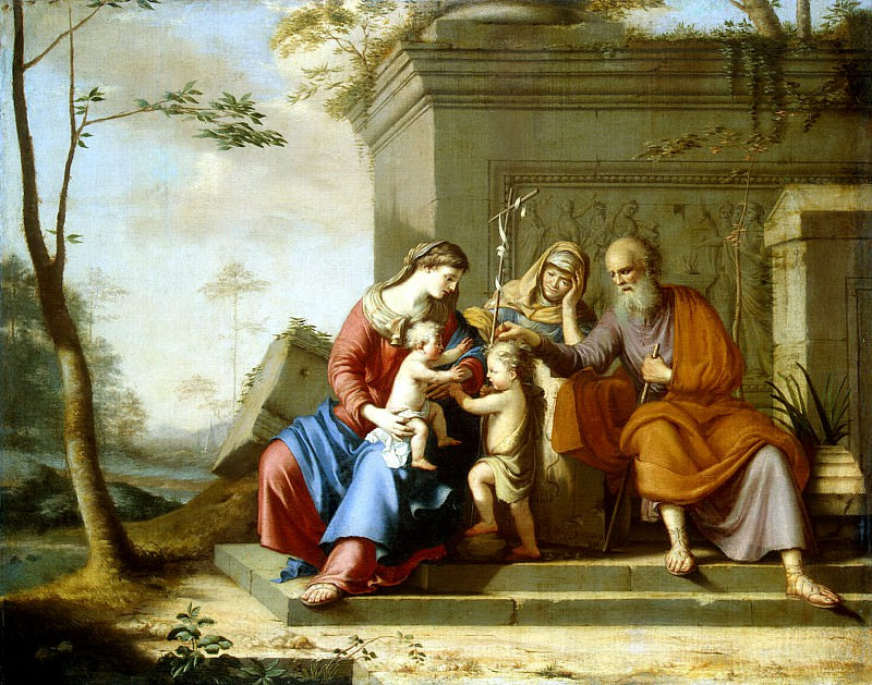 Cauchy Pierre - Holy Family. Hermitage ~ part 06