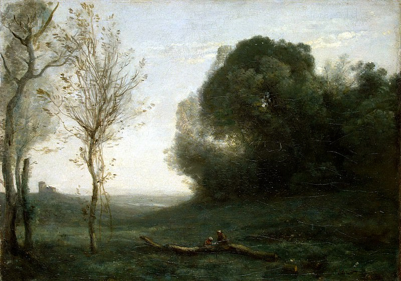 Corot, Jean-Baptiste Camille - Morning. Hermitage ~ part 06