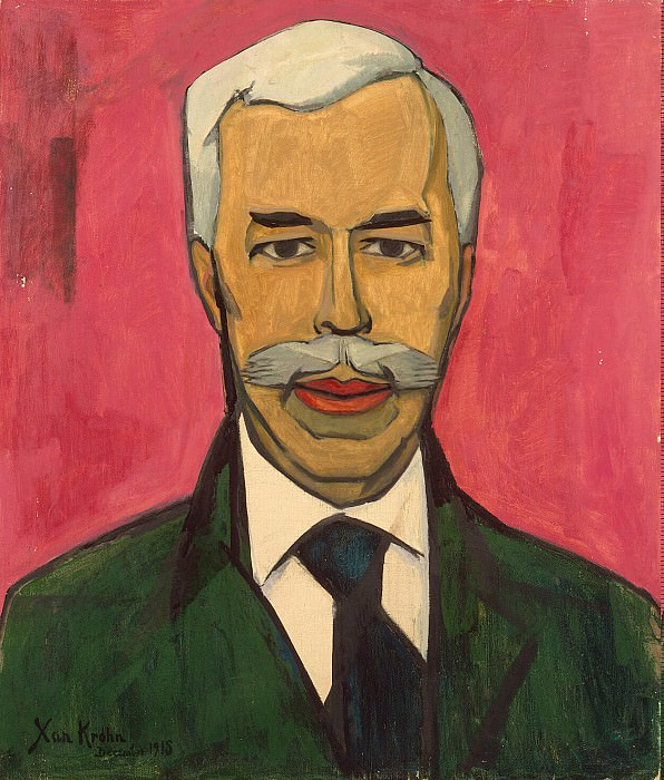 Krohn, Christian Cornelius - Portrait of SI Shchukin. Hermitage ~ part 06