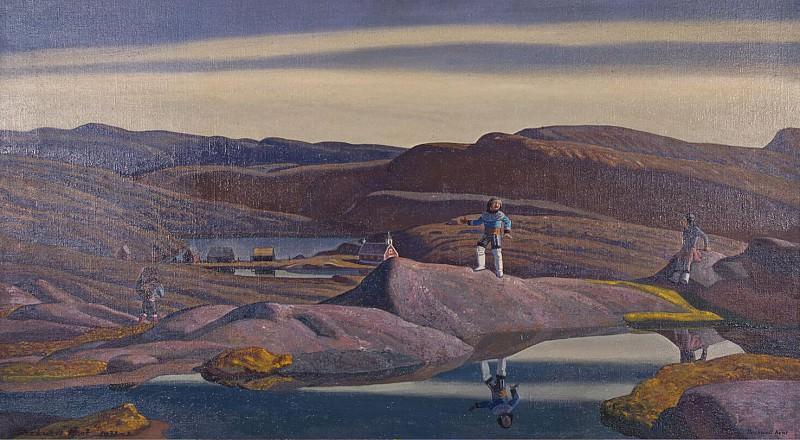 Kent, Rockwell - Tassiusak. Greenland. Hermitage ~ part 06