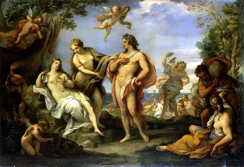 Chiari Giuseppe Bartolomeo - Bacchus and Ariadne. Hermitage ~ part 06