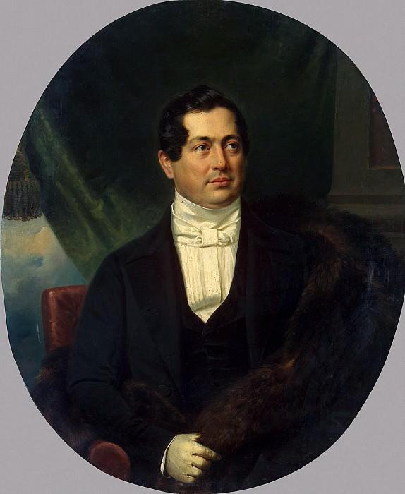 Kruger Franz - Portrait of DP Volkonsky. Hermitage ~ part 06