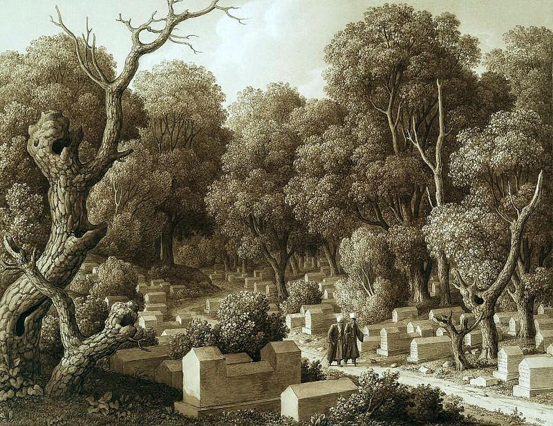 Kyugelgen, Carl von - Karaites cemetery in Chufut-Calais. Hermitage ~ part 06
