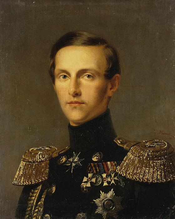 Kruger Franz - Portrait of Grand Duke Konstantin Nikolayevich. Hermitage ~ part 06