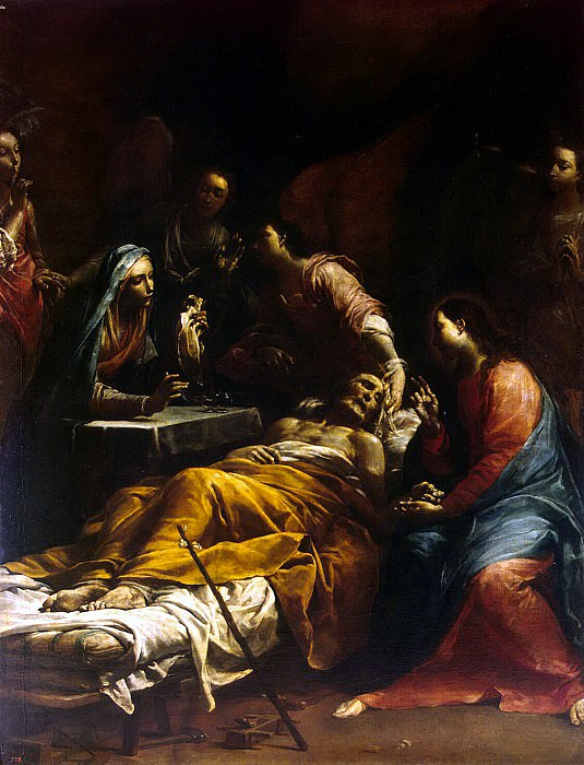 Crespi, Giuseppe Maria - Death of St. Joseph. Hermitage ~ part 06