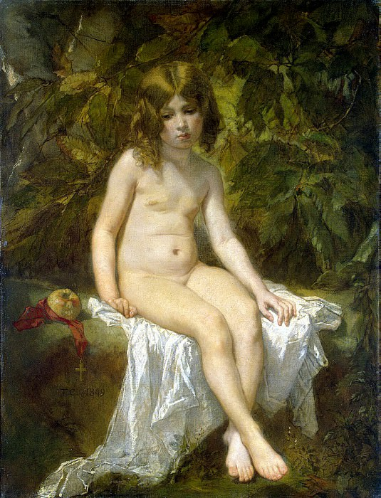 Couture, Thomas - Little bather. Hermitage ~ part 06