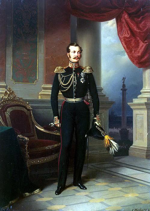 Kruger Franz - Portrait of Grand. book. Aleksandar. Hermitage ~ part 06