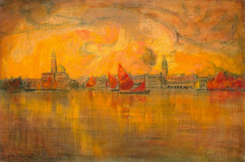Kotte, Charles - View of Venice from the sea. Hermitage ~ part 06