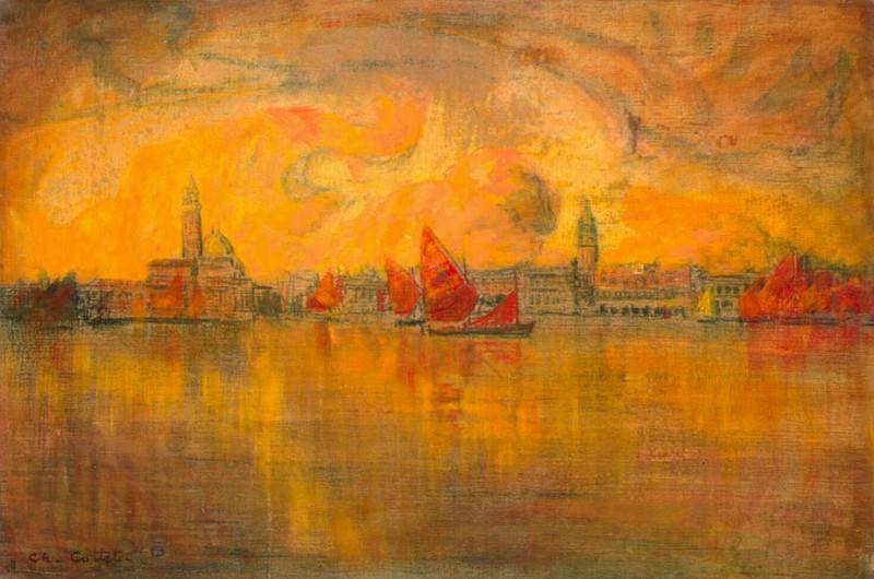 Котте, Шарль - Вид Венеции с моря. Эрмитаж ~ часть 6