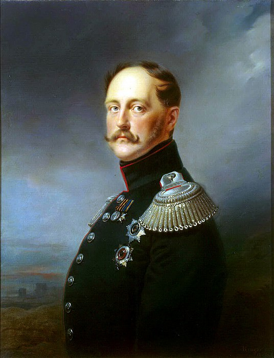 Kruger Franz - Portrait of Nicholas I. Hermitage ~ part 06